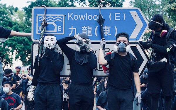 STAND WITH HK